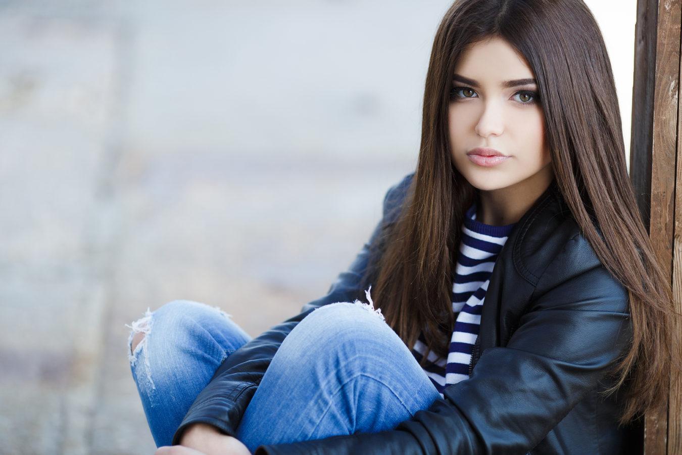 Фото брюнеток девушки кавказ